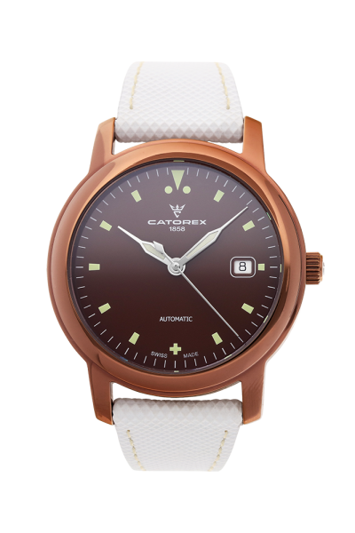 ATTRACTIVE Automatic 40 Brown PVD Bronze