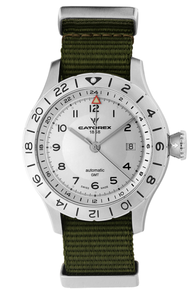 VOYAGER GMT 42 Silver